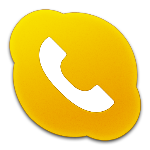 Skype Phone Yellow